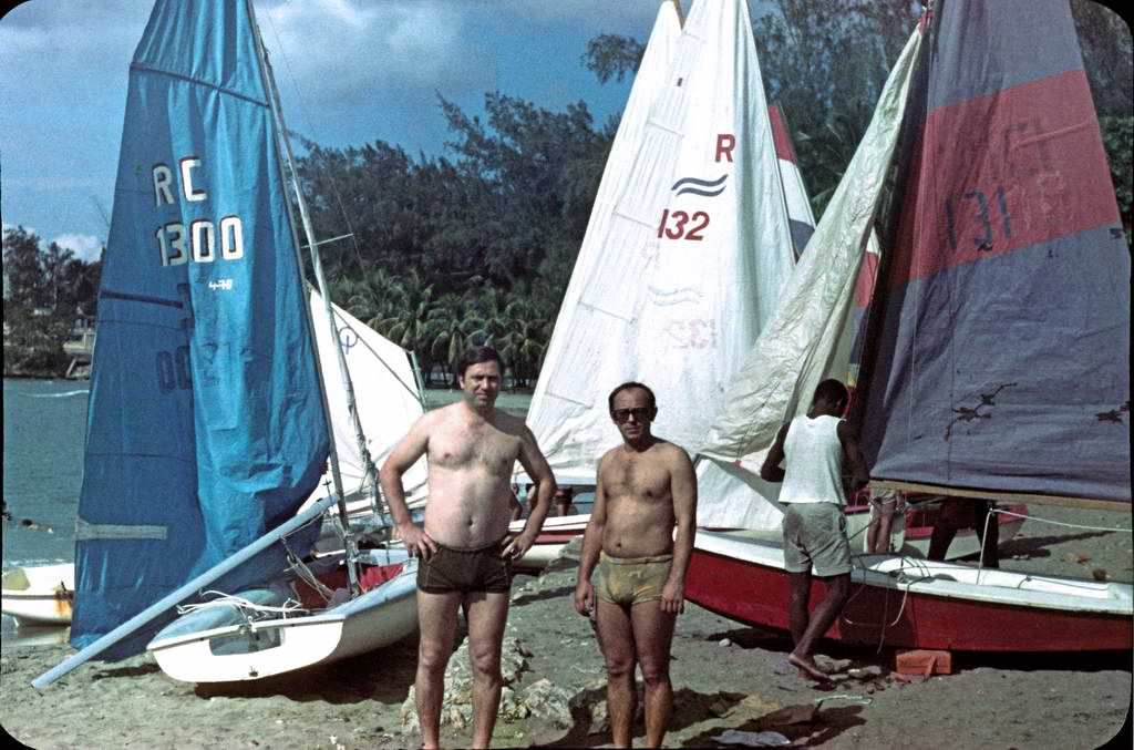 Сантьяго-де-Куба. 1984. Яхтинг.