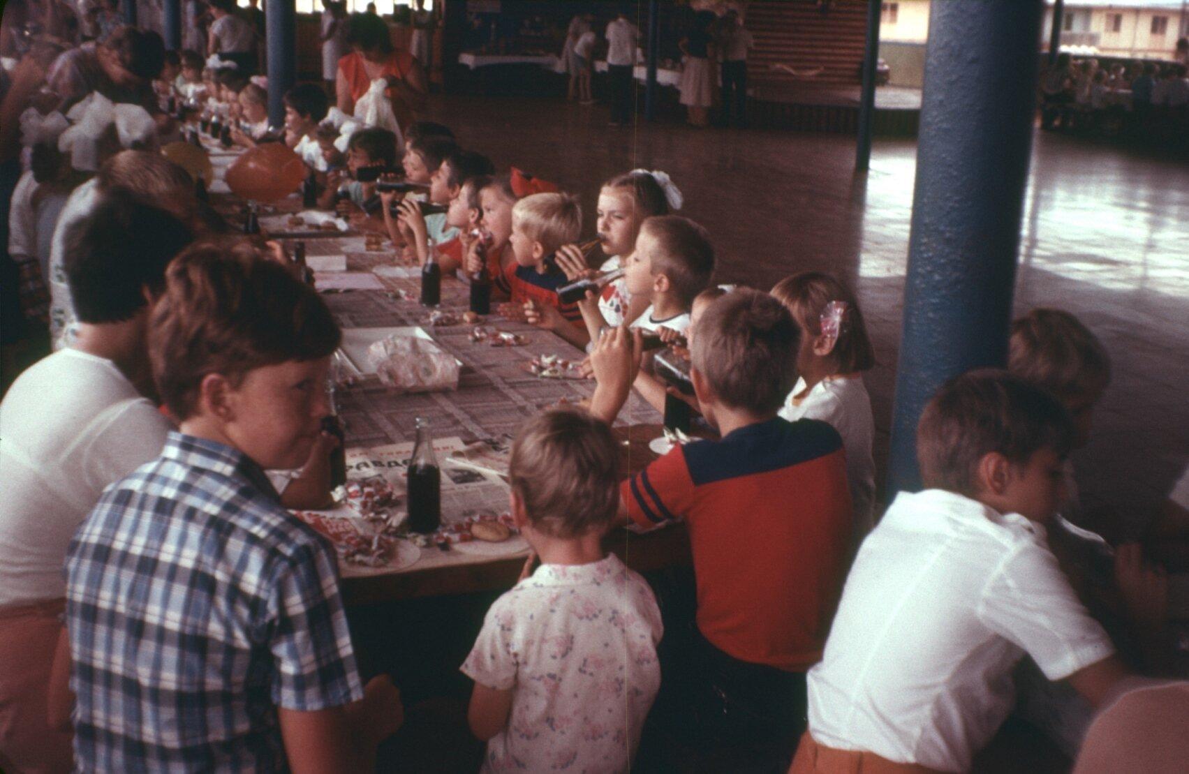 1985-1988. Детский праздник в клубе
