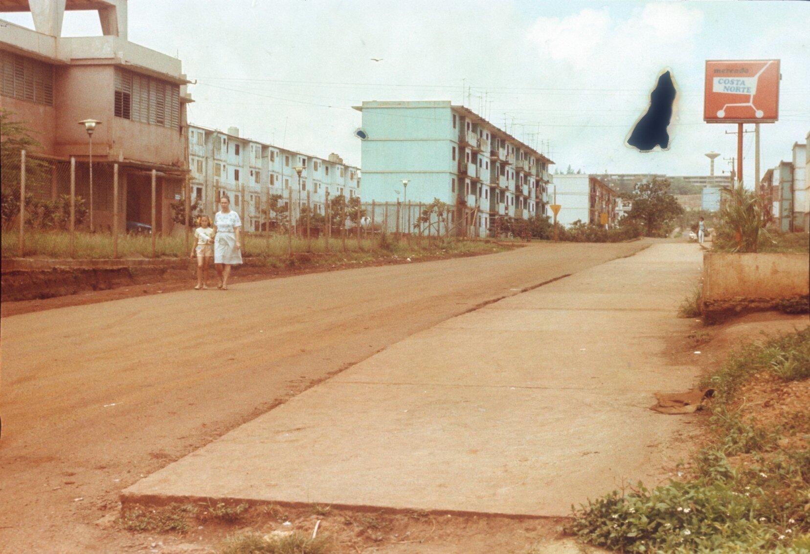 1985-1988. Колорадо. Госпиталь и за ним - дом 17.
