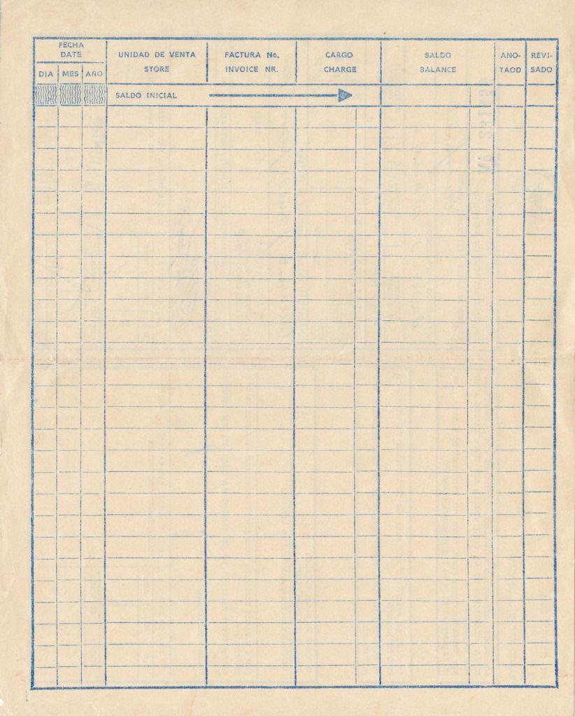 1986-06-03. Бланк обмена дорожных чеков на кубинские песо. Оборот.