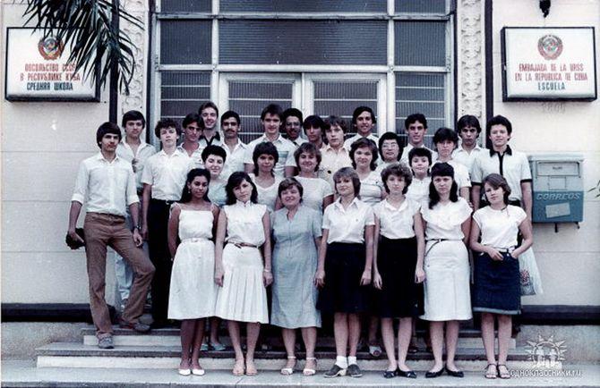 10 «Б», 1984-1985 учебный год