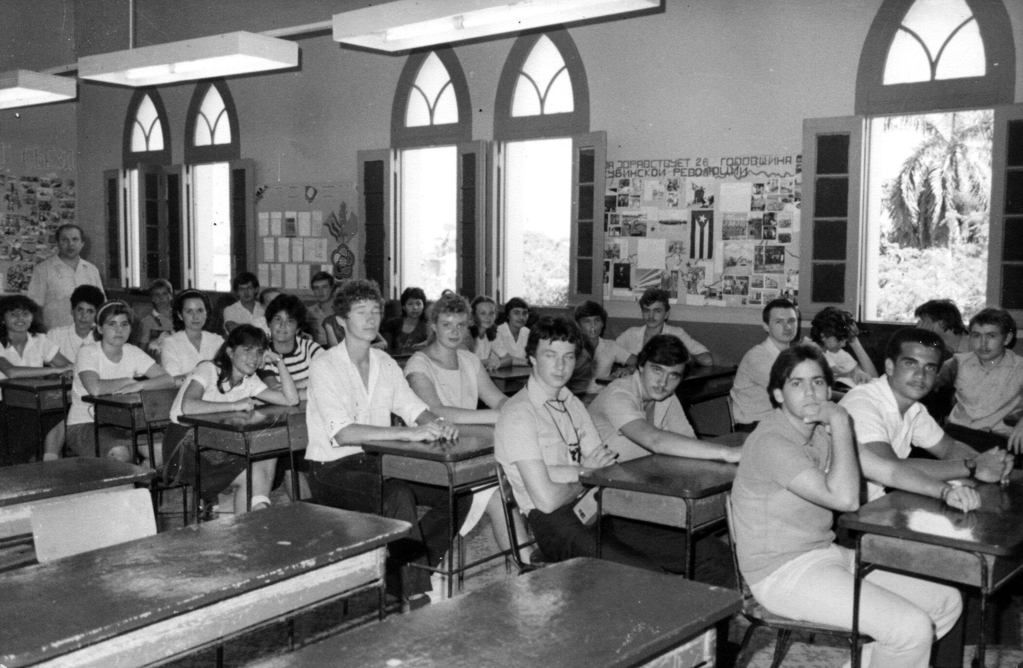 10 «В» 1984-1985 учебный год, фото 2