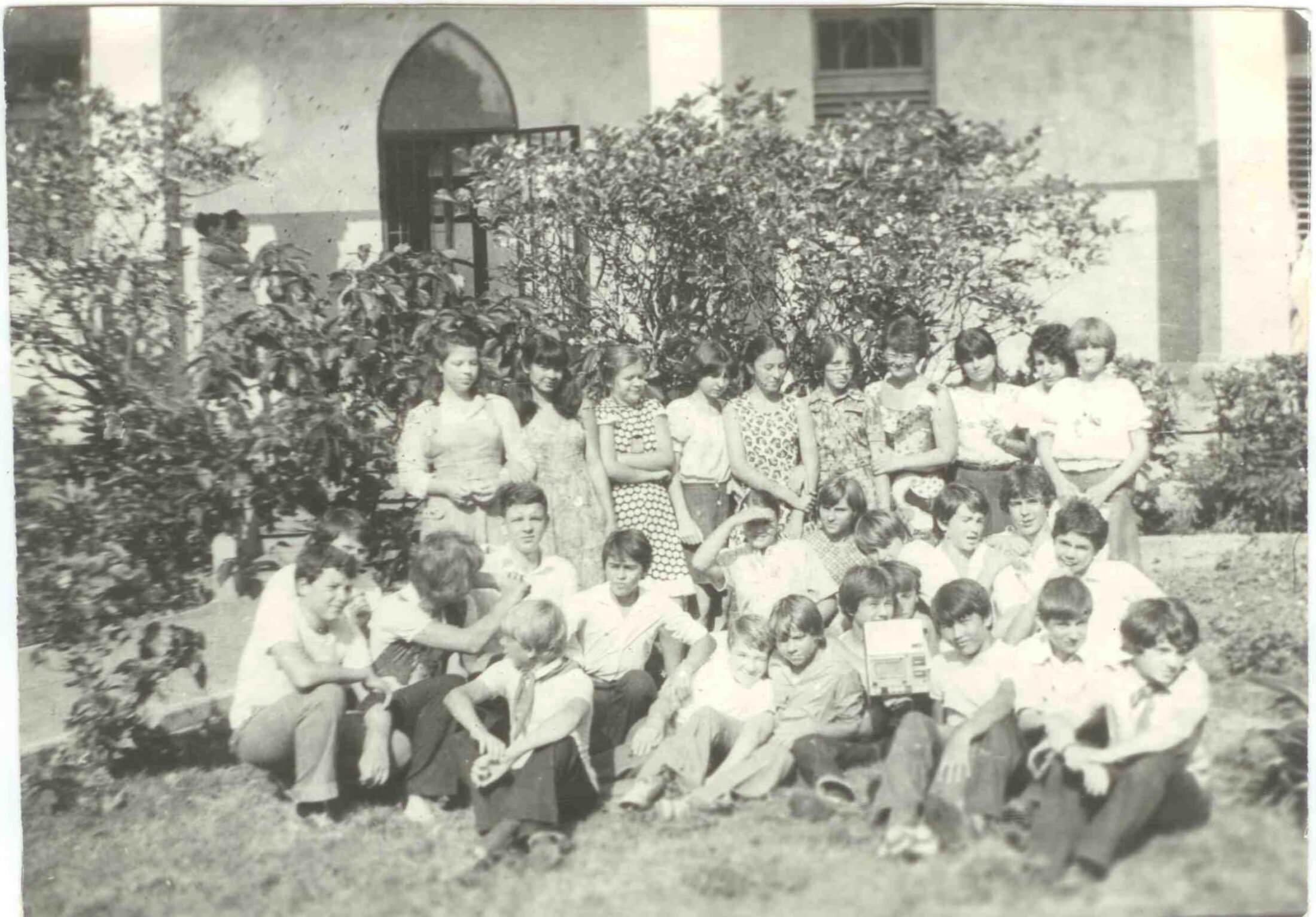8 «В» 1980-1981 учебный год