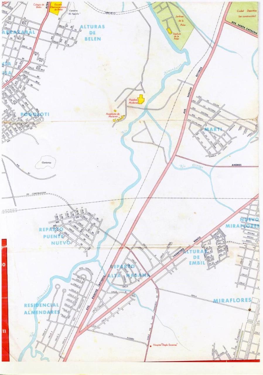 502. 1956. Карта Кубы и Гаваны. 1 лист, 6 фрагмент