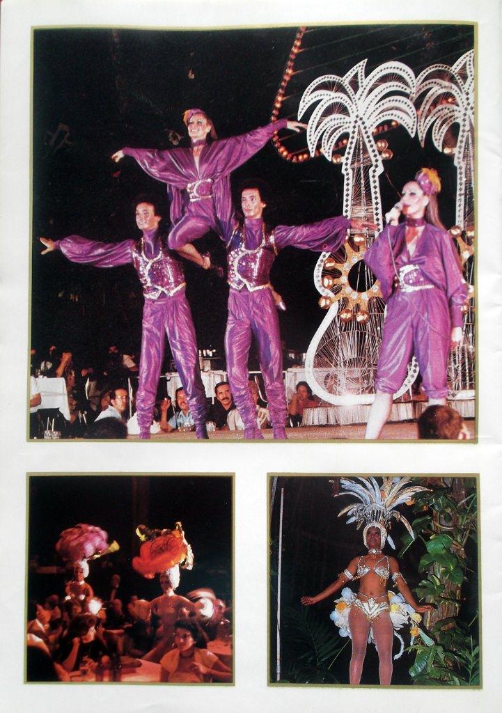Рекламный журнал кабаре «Тропикана». 80-е годы. -23