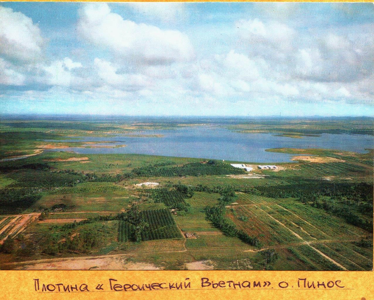 179. Плотина «Героический Вьетнам», остров Пинос