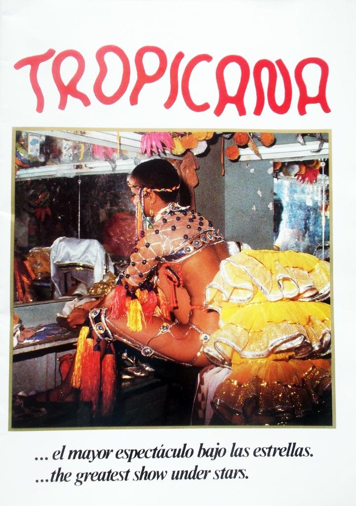 Рекламный журнал кабаре «Тропикана». 80-е годы. -21