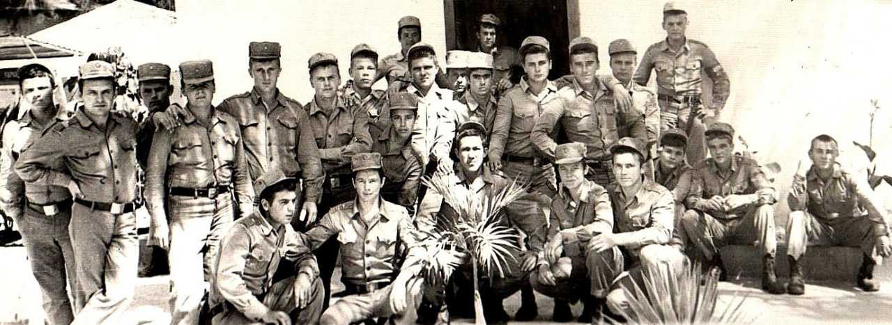 1979-1981. Первая танковая рота