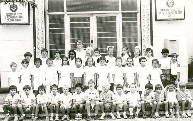 1 «В» 1986-1987 учебный год