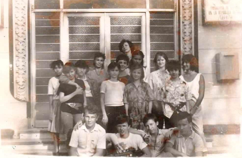 7 «Г» 1987-1988 учебный год