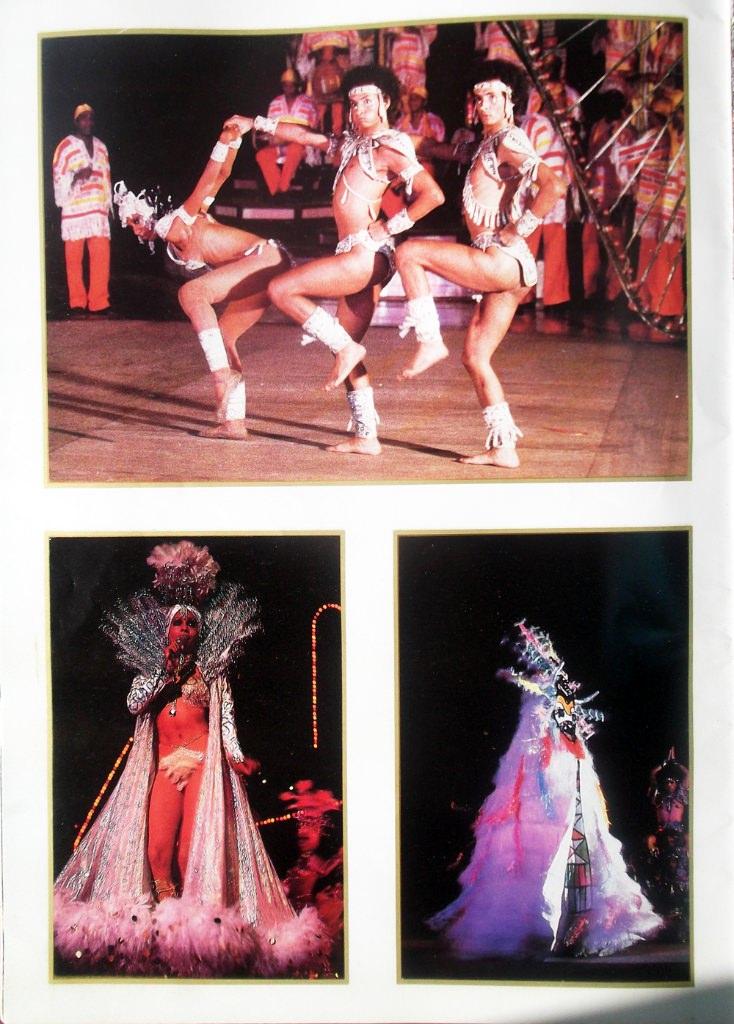 Рекламный журнал кабаре «Тропикана». 80-е годы. -04