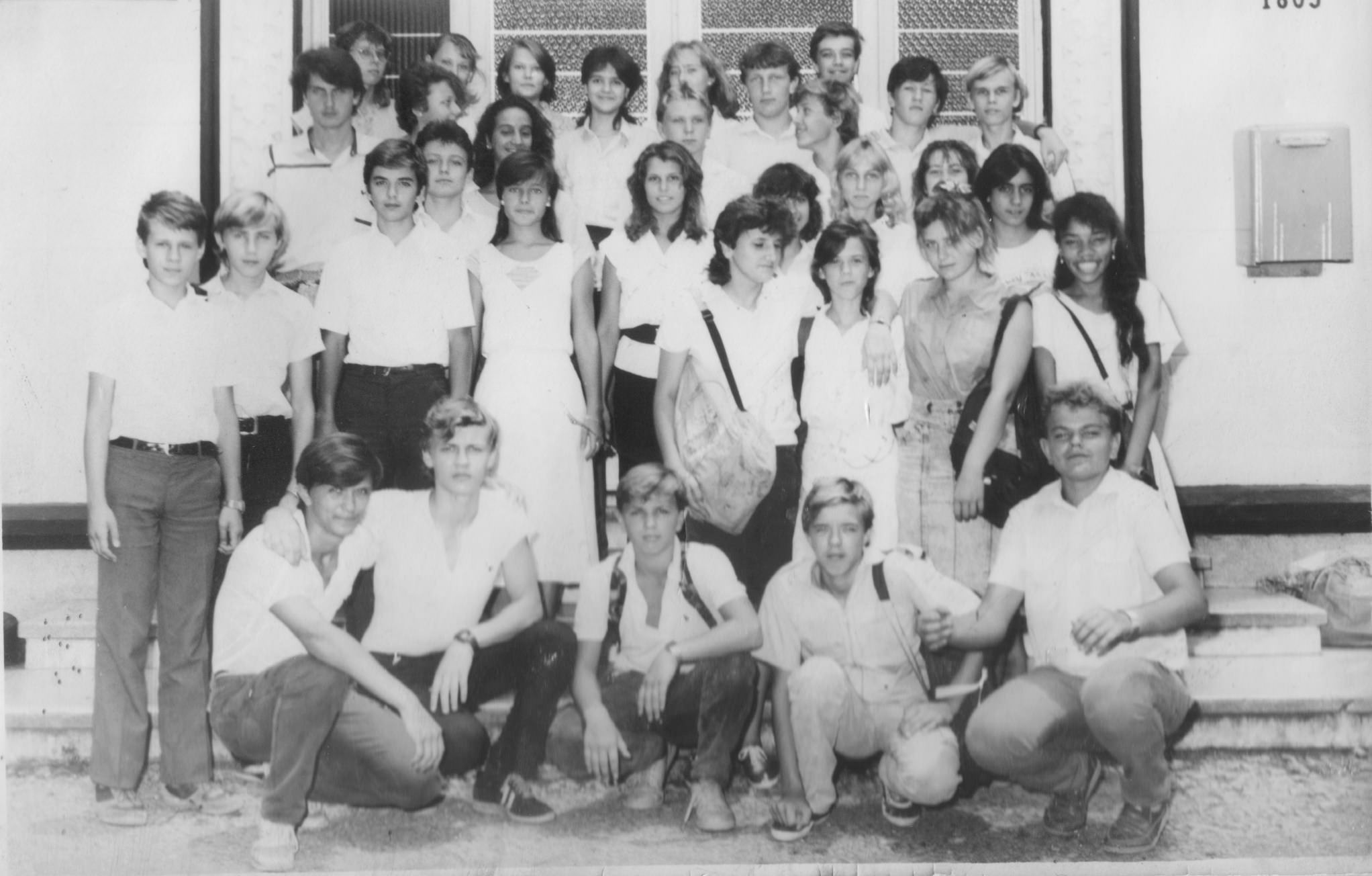 8 «Г»  1988-1989  учебный год