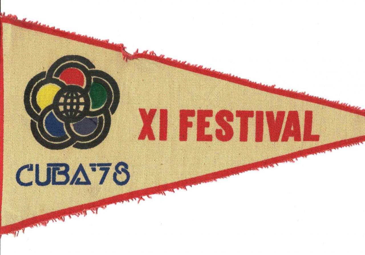 1978 - Вымпел с Фестиваля
