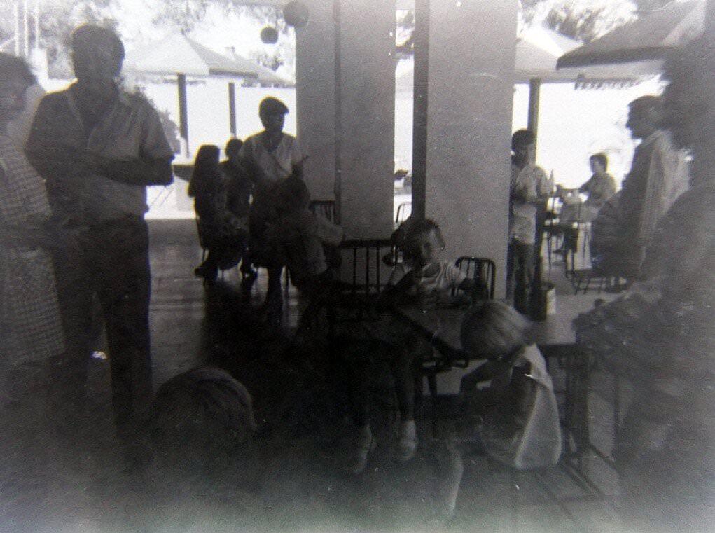 294. 1985-1987. На территории зоны отдыха «Чайка», фото 4