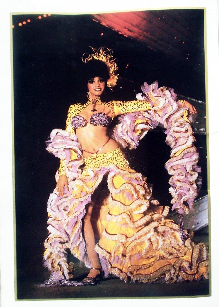 Рекламный журнал кабаре «Тропикана». 80-е годы. -06