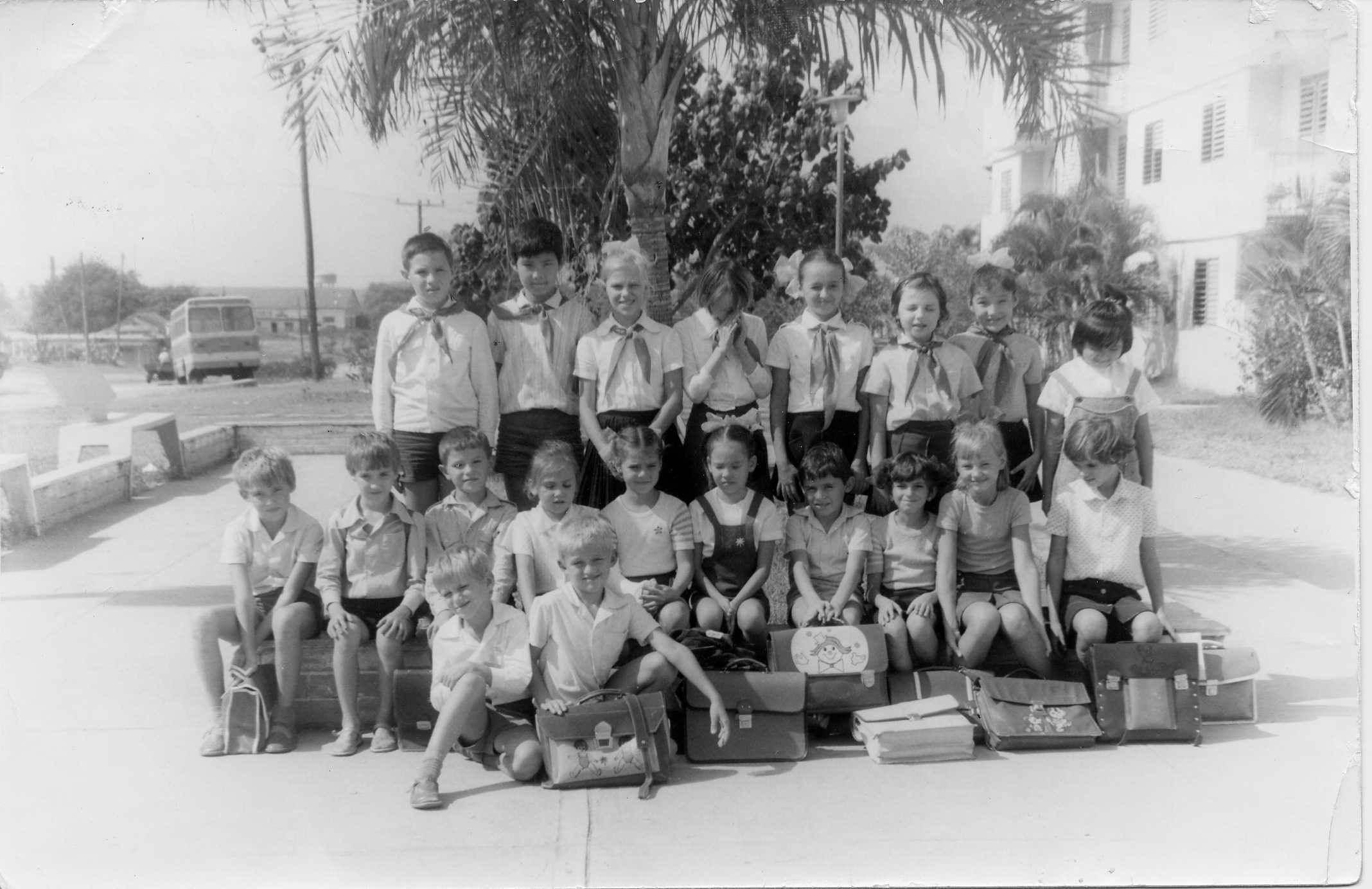 Начальная школа города Ольгин, с 1-го по 4-й классы,1982-1983 учебный год