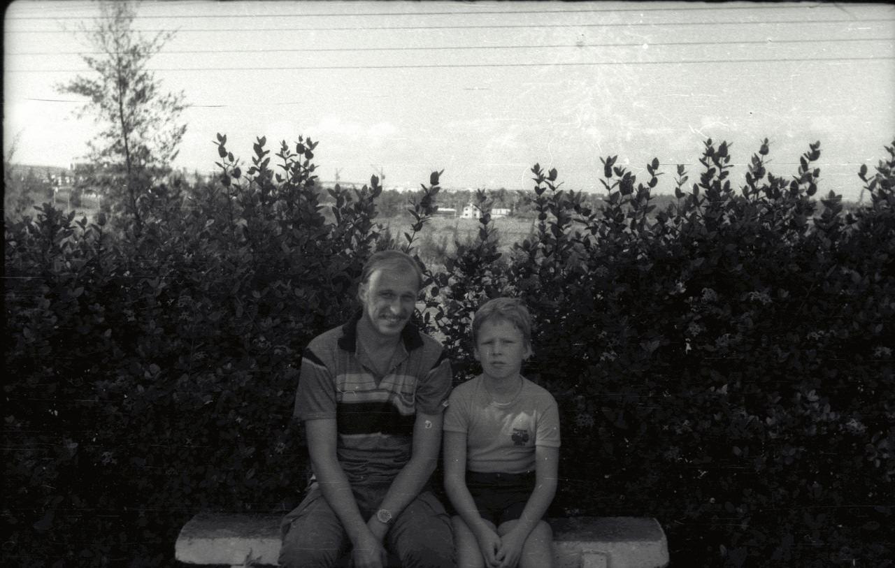 Андреевы Николай и Александр. 1987