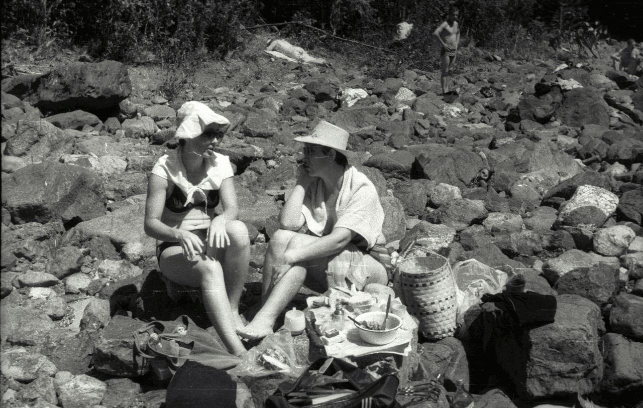 Выходной на Кайо Гуан. 1987
