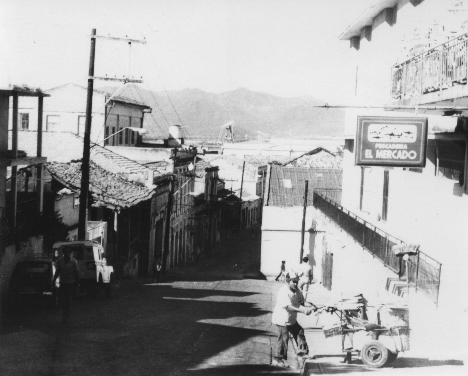 Сантьяго-де-Куба. 1987. Одна из улочек.