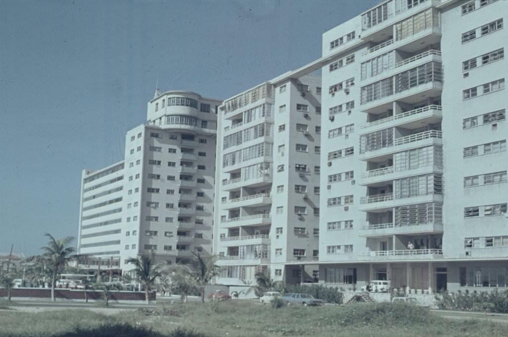 1968. Гостиницы «Рио Мар» и  «Сьерра-Маэстра», бывшая «Росита»