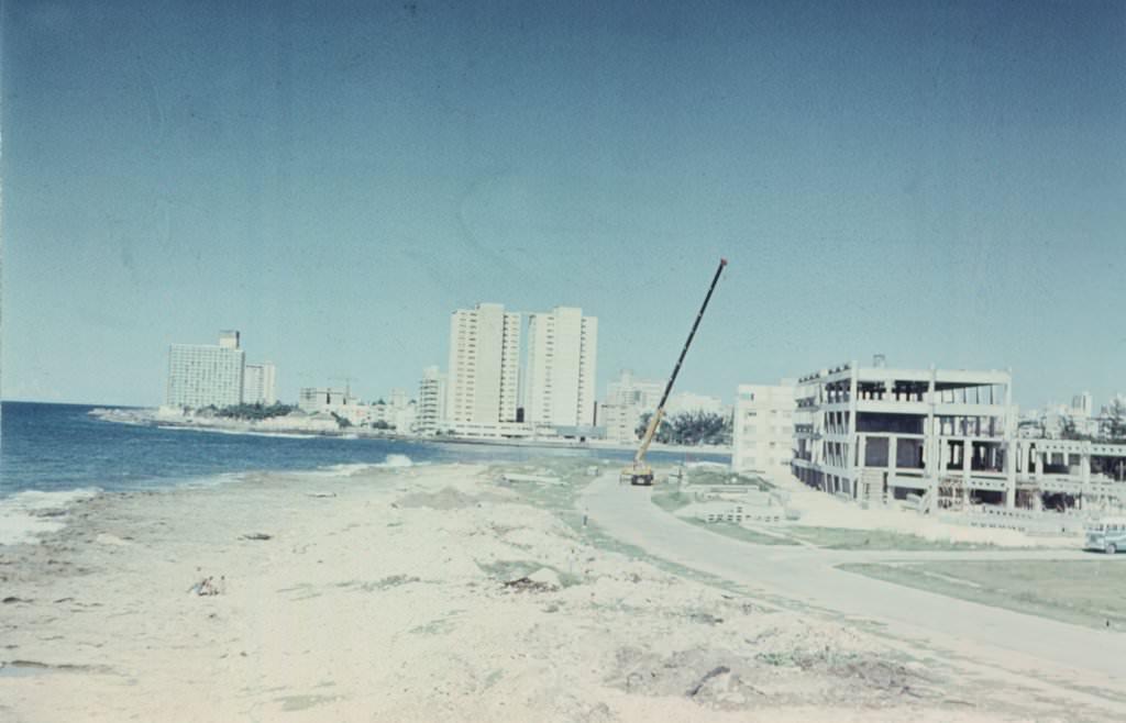 1976. Строительство здания CUBALSE
