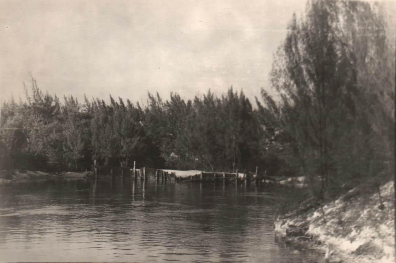 1978-1982. Фото 03. Остров Кайо Моа, «Барка», путь к причалу.