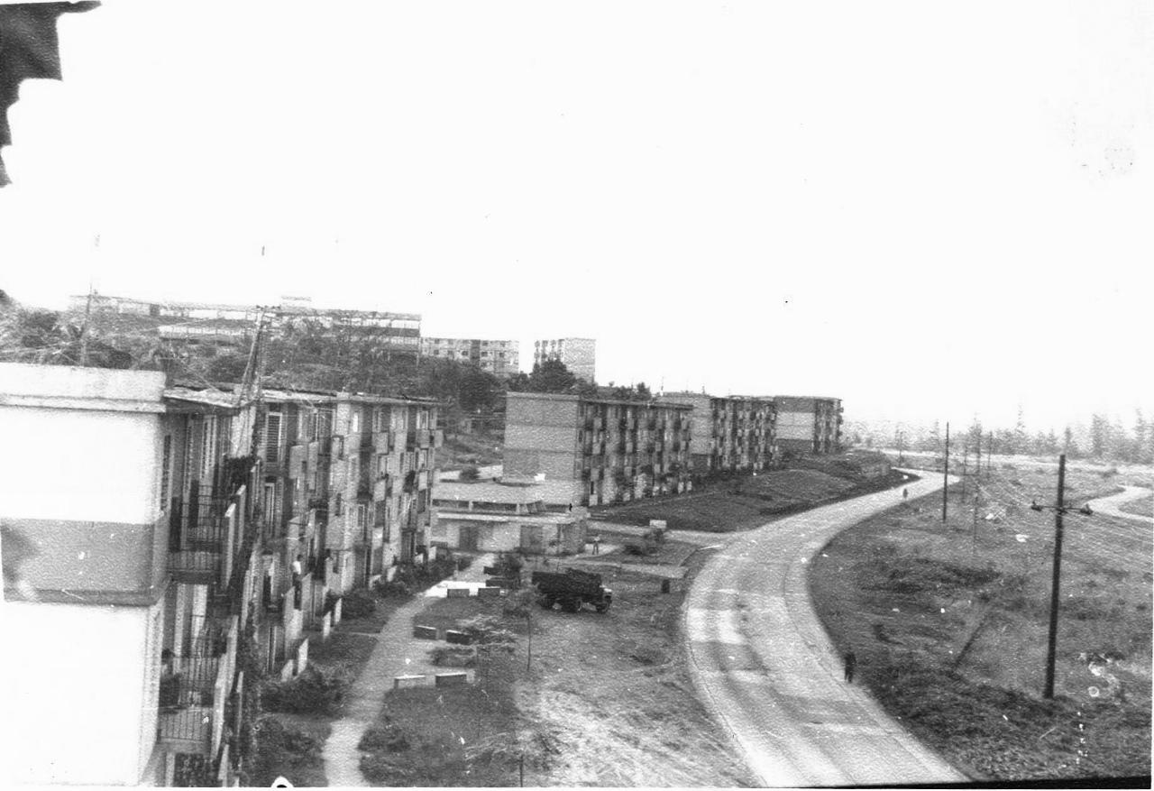 1978-1982. Фото 04. «Вид с балкона наших Роло» - в одну сторону