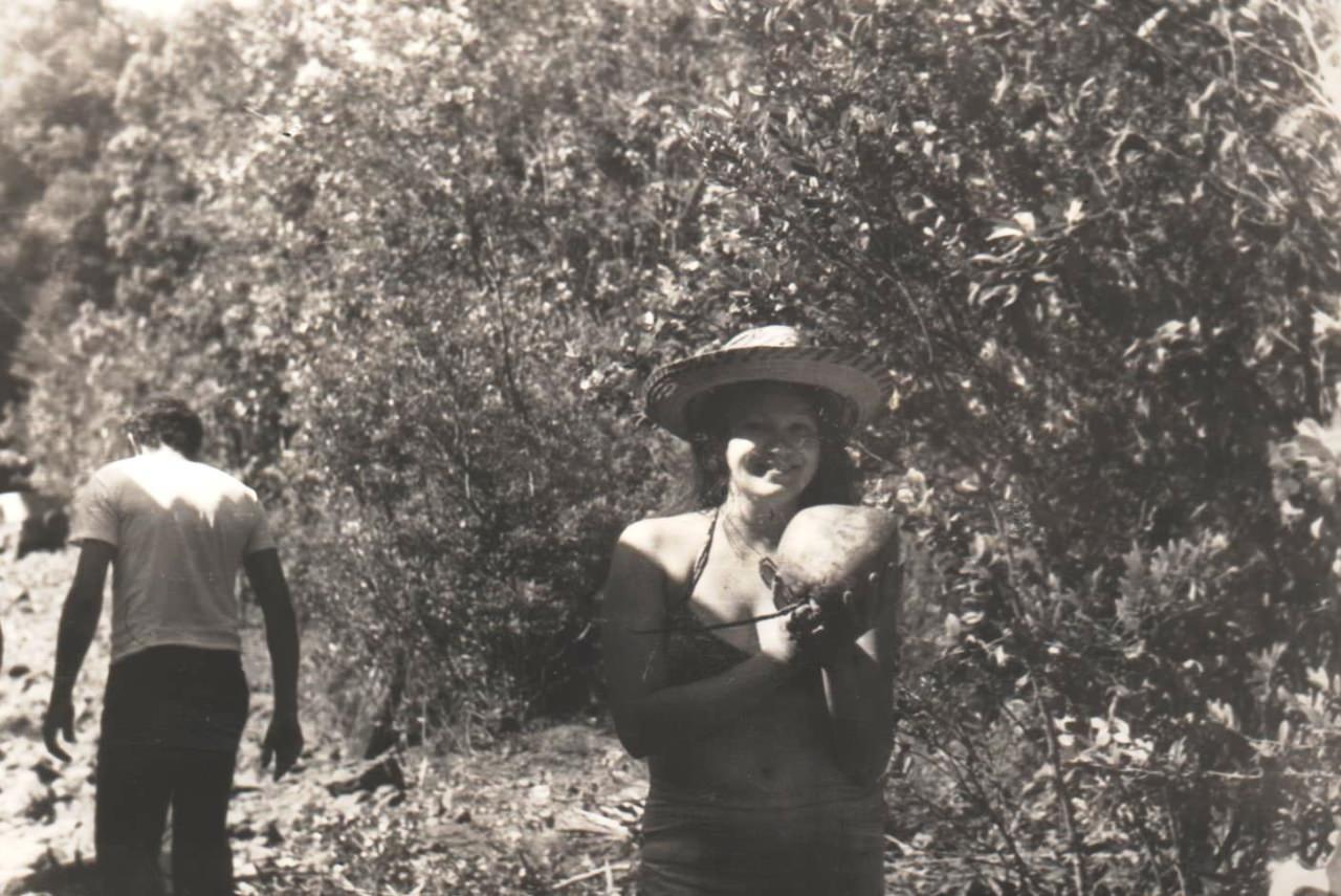 1978-1982. Фото 07. На речке Кайо Гуам