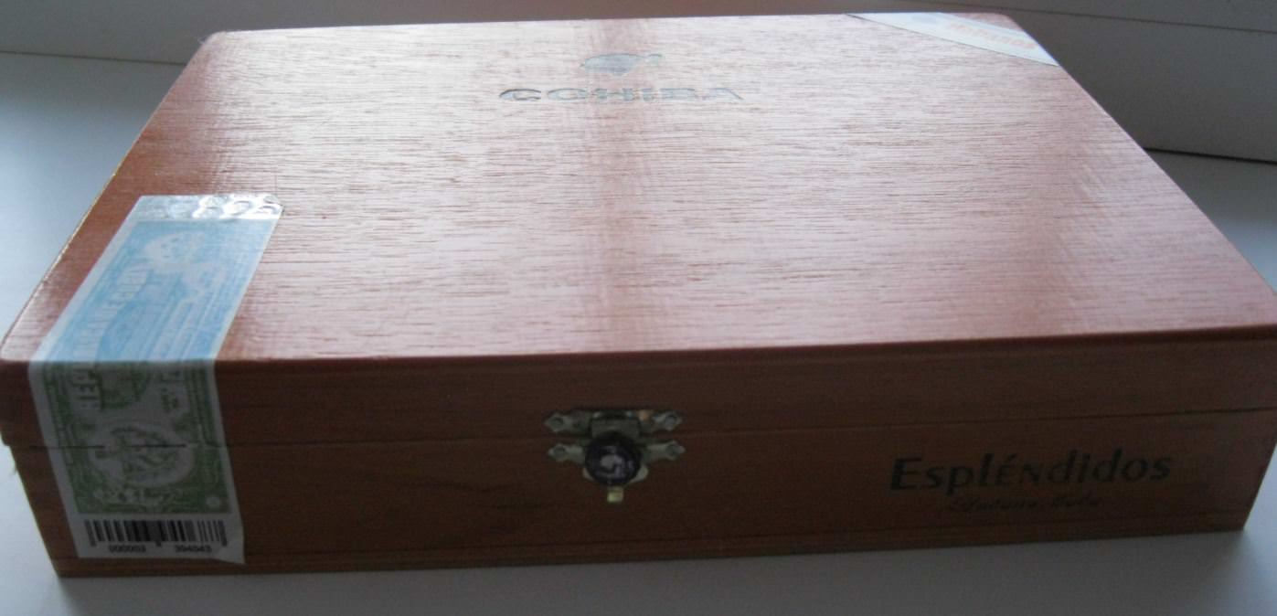 2017. Коробка от гаванских сигар.