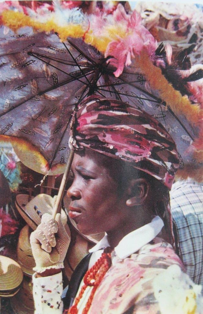 1966. На карнавале в Гаване. Фрагмент.
