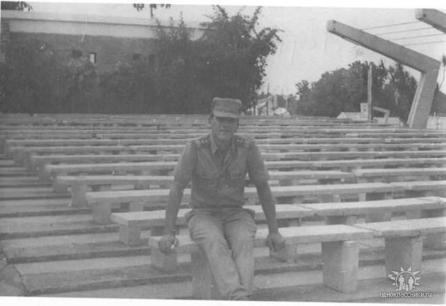 1986, кинотеатр артдивизиона, фото 1