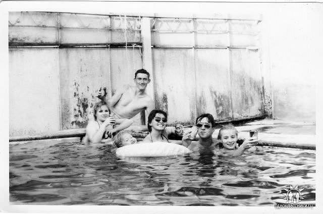 1990-1991, бассейн в артдивизионе
