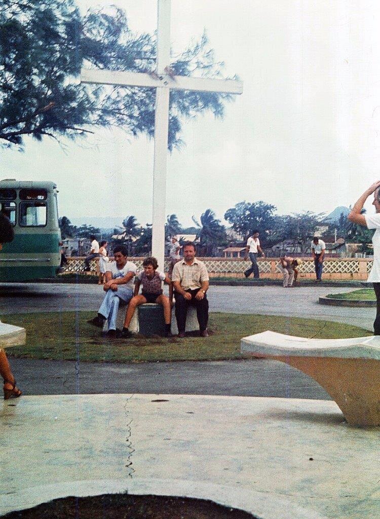 1983-1986. Баракоа. Крест Колумба