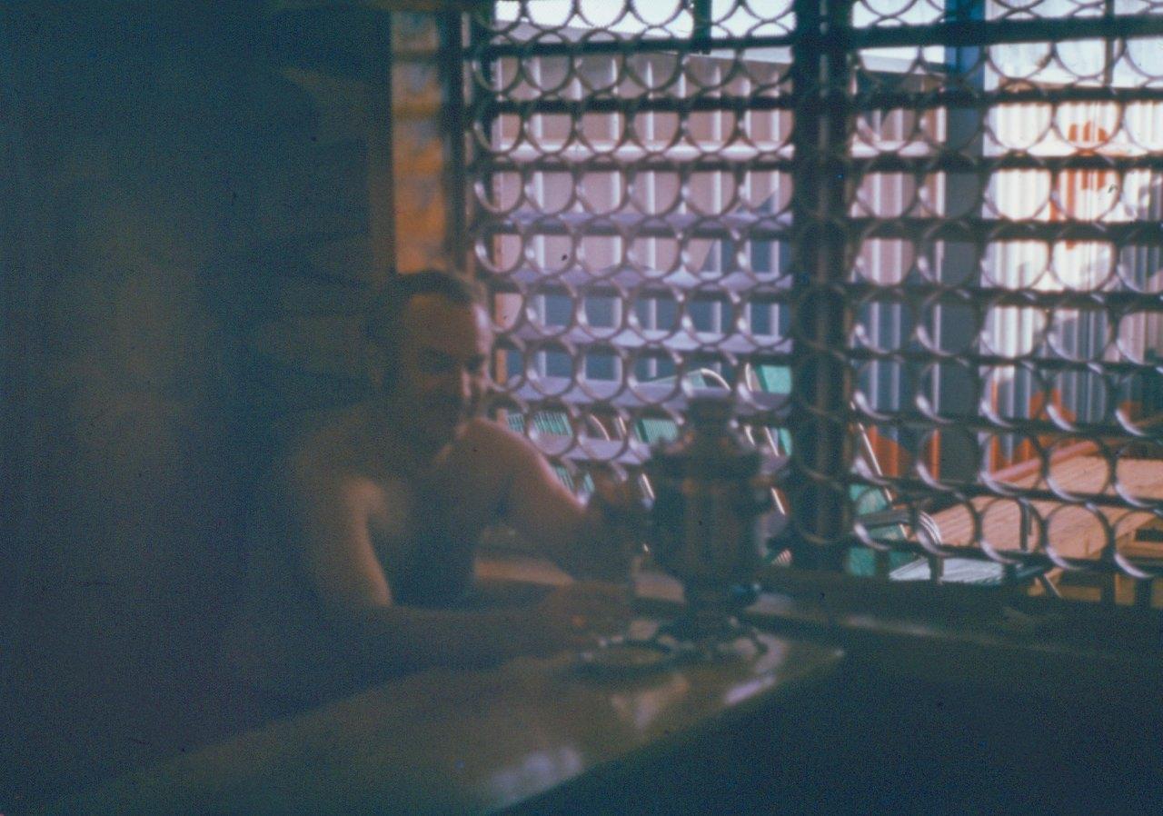 1982-1984. В бане Роло. 1
