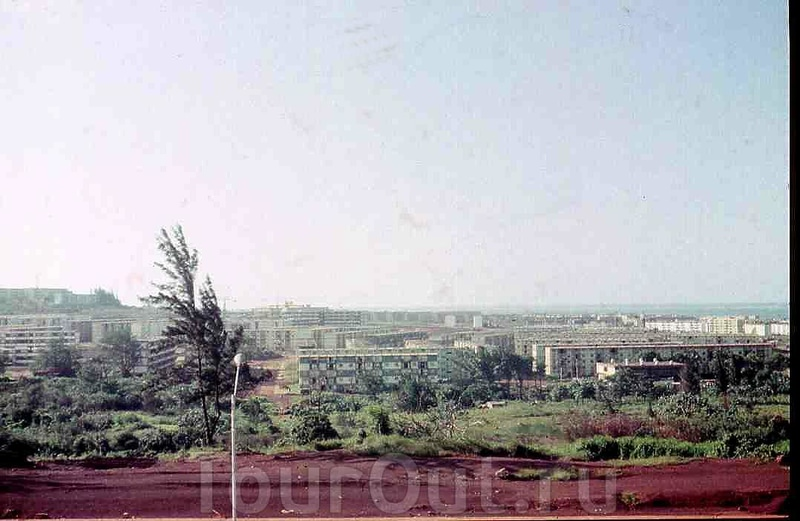 1985-1986. Вид на Моа