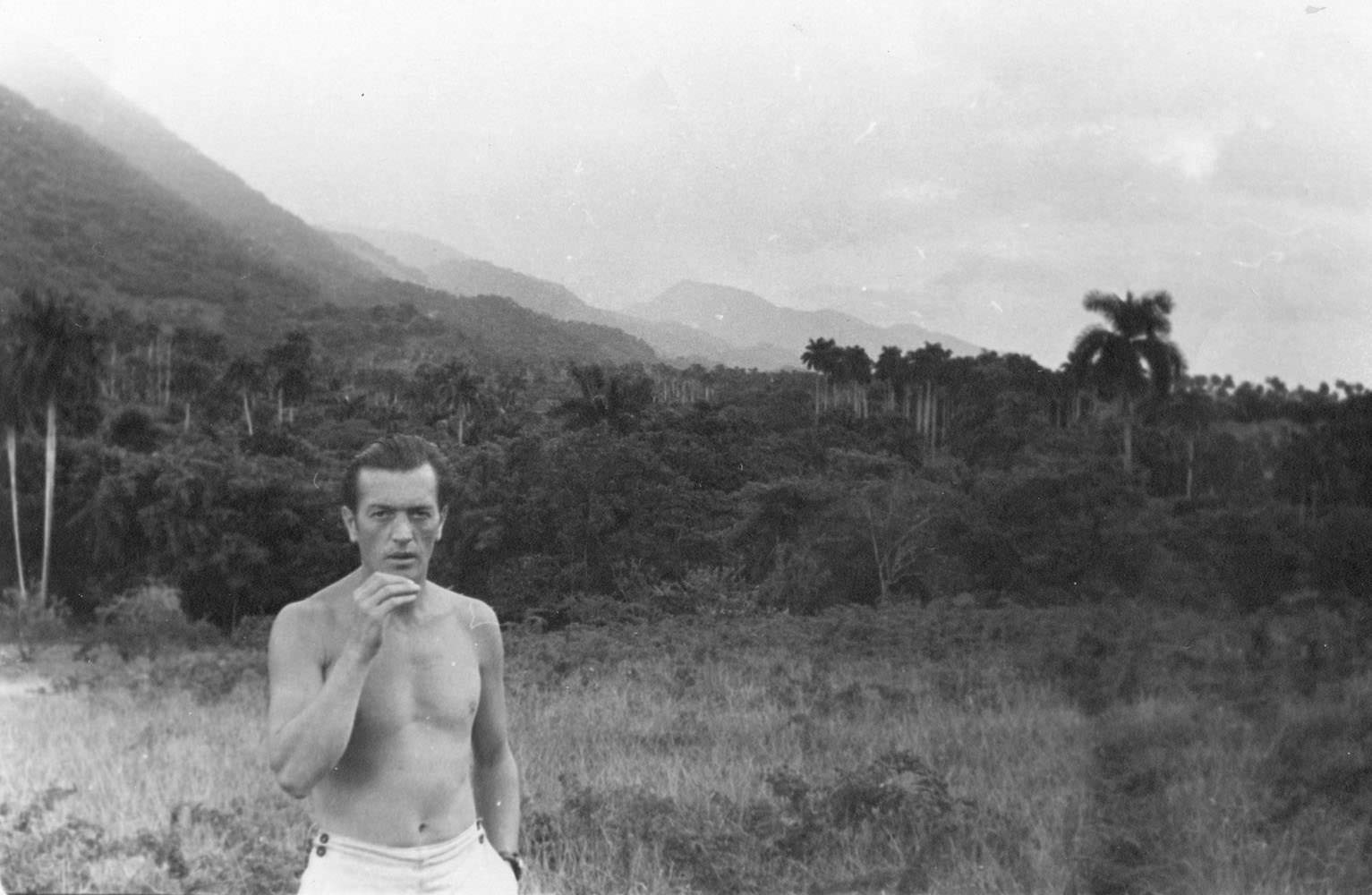 Барбаков Н.Т. на Кубе. Фото 1.