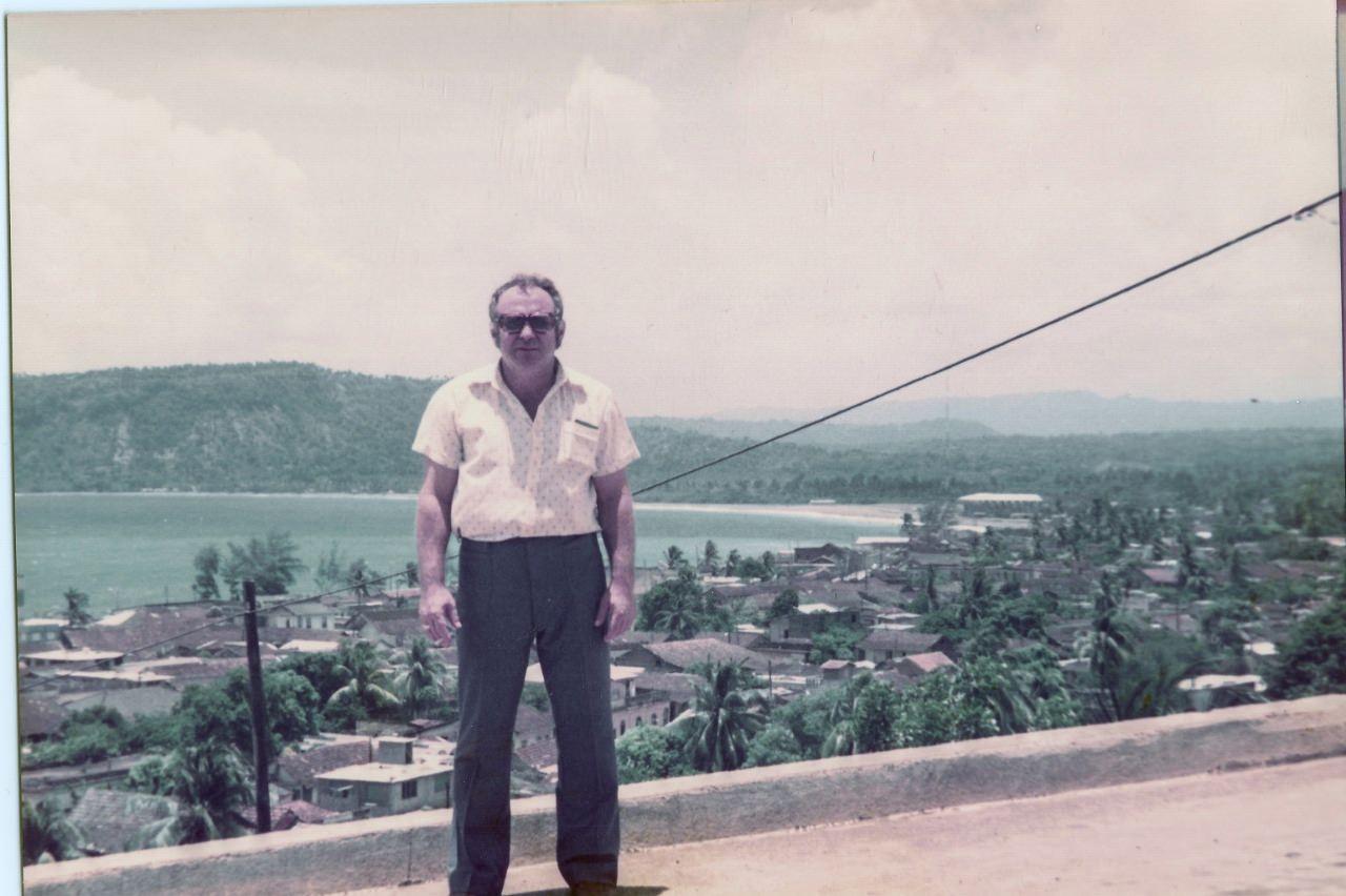 Баракоа. 1982-1984. Бухта. Бородавка В.И.