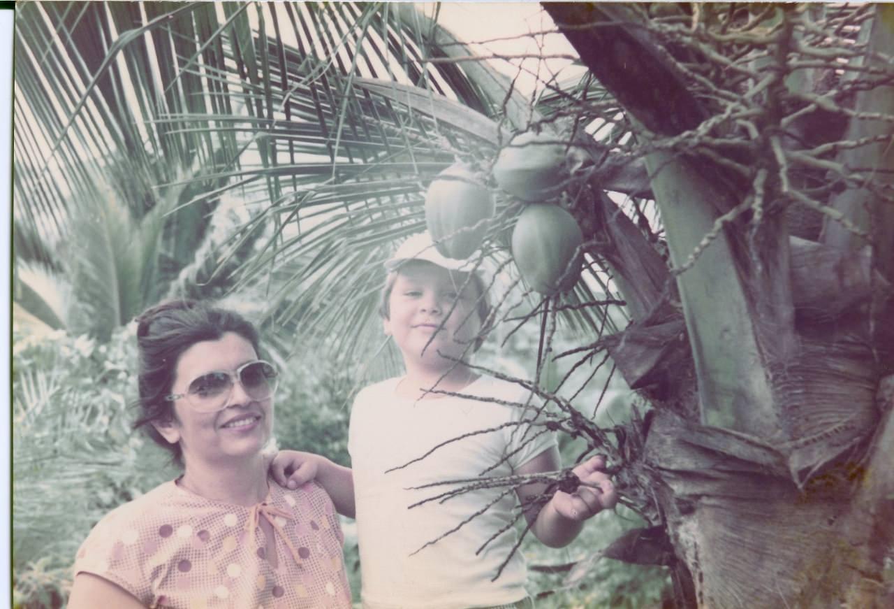 Баракоа. 1982-1984. Плантации какао. 4