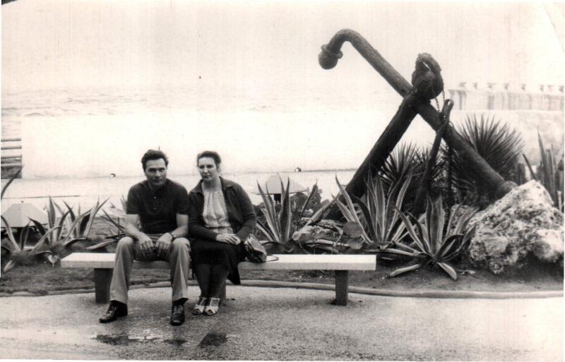 1978-1979. Гавриковы в океанариуме, Гавана
