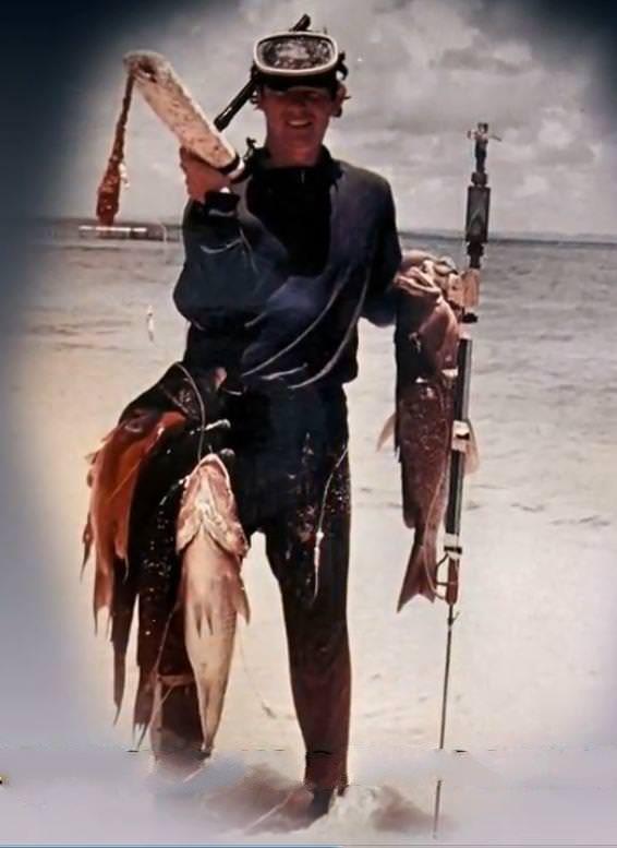1977-1981. Рыбалка на Кайо-Моа, фото 1