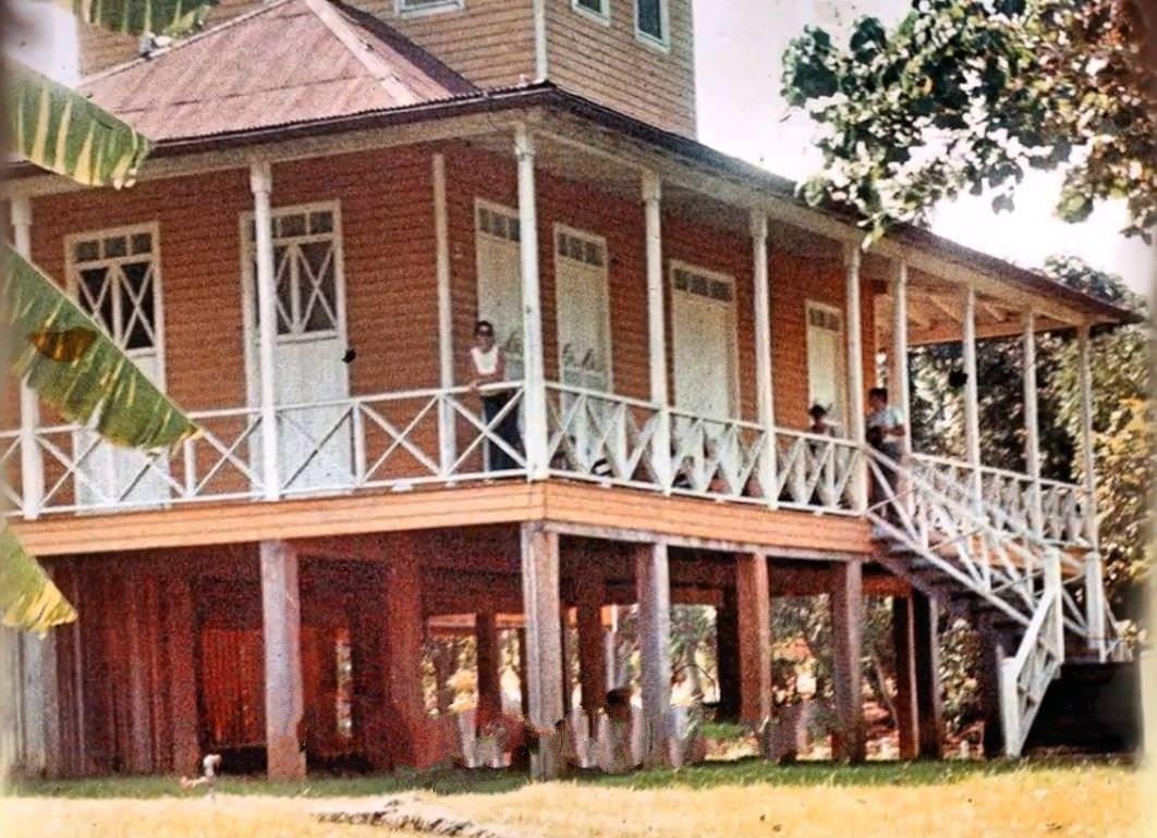 1977-1981. Усадьба Биран, дом, в котором в 1926 г. родился Фидель, в 1931 г. Рауль