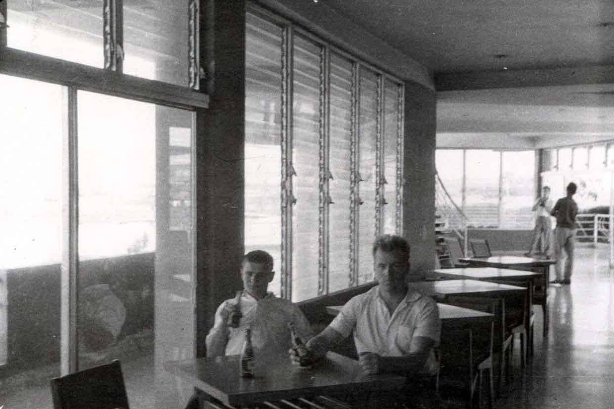 В кафе в районе Гуанабо