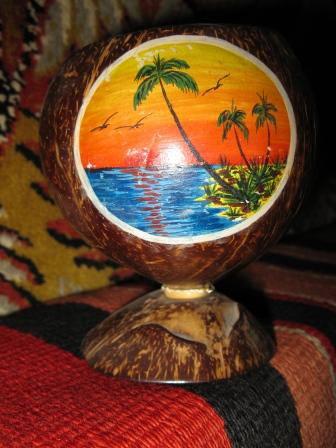 Чаша из кокосов