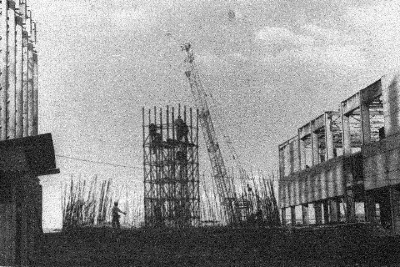 1990. Стройка никелевого завода Лас-Камариокас, фото 7