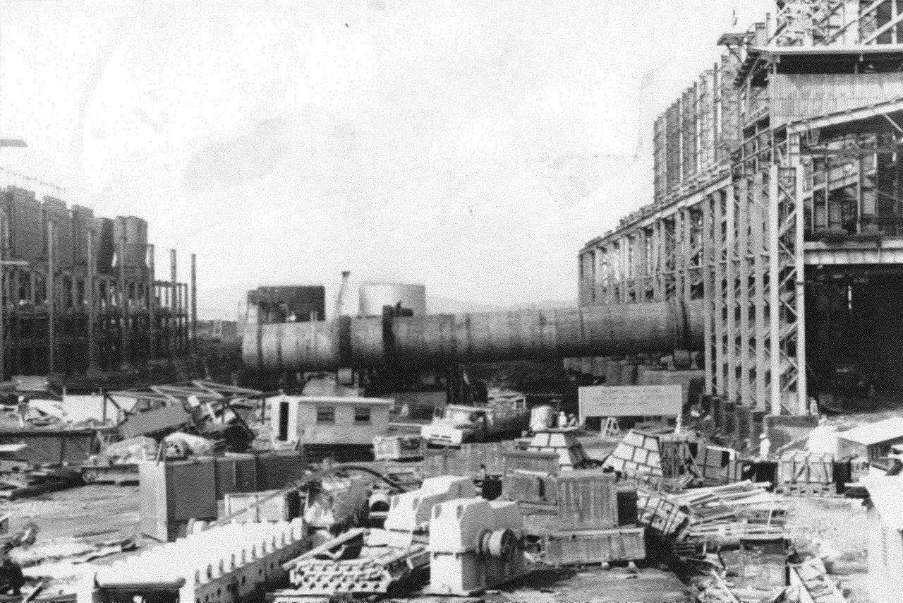 1990. Стройка никелевого завода Лас-Камариокас, фото 8