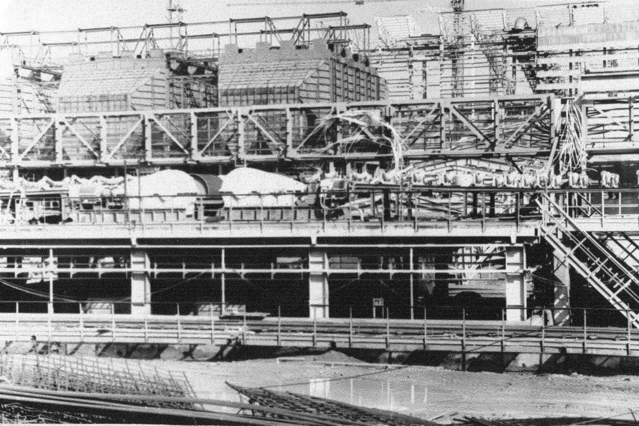 1990. Стройка никелевого завода Лас-Камариокас, фото 9
