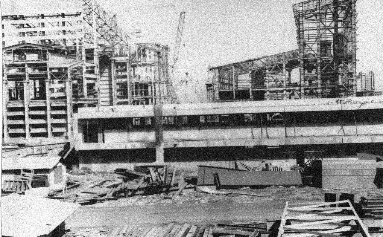 1990. Стройка никелевого завода Лас-Камариокас, фото 10