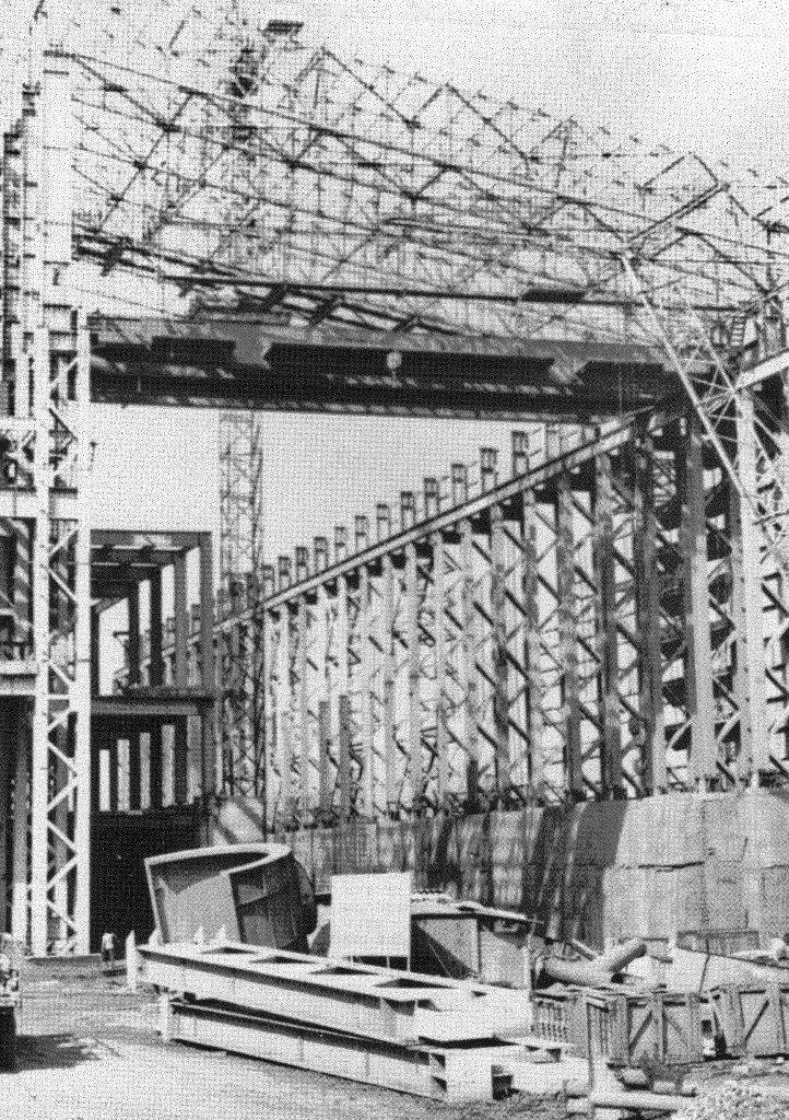 1990. Стройка никелевого завода Лас-Камариокас, фото 13
