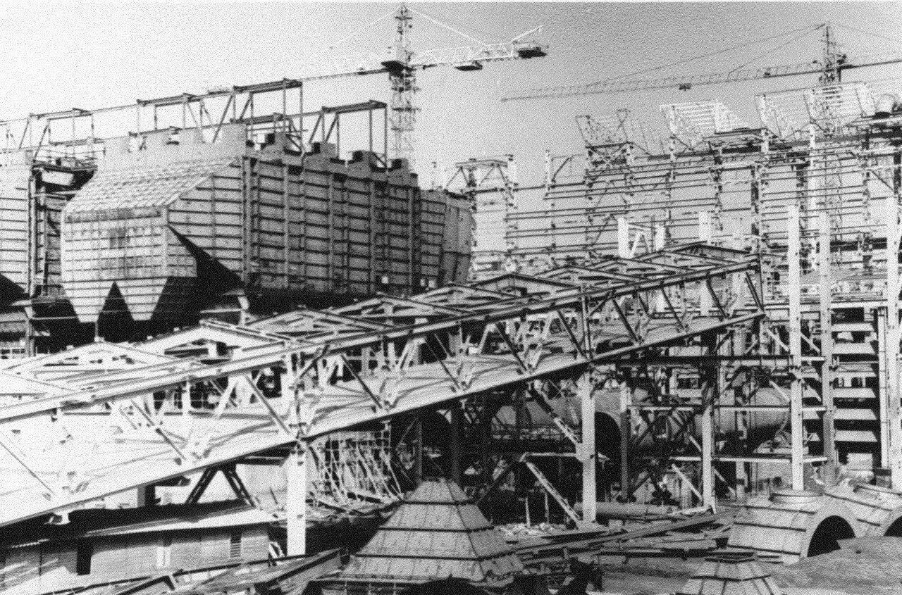1990. Стройка никелевого завода Лас-Камариокас, фото 15