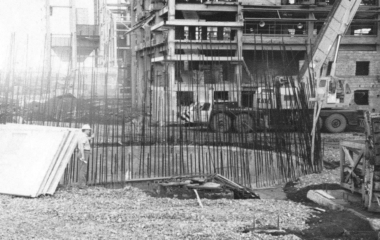 1990. Стройка никелевого завода Лас-Камариокас, фото 20